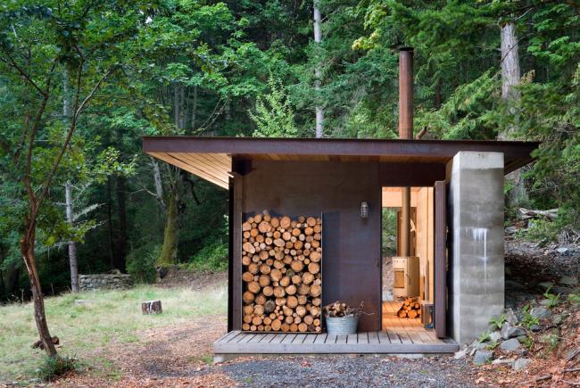 Баня на дровах поможет сэкономить на электричестве