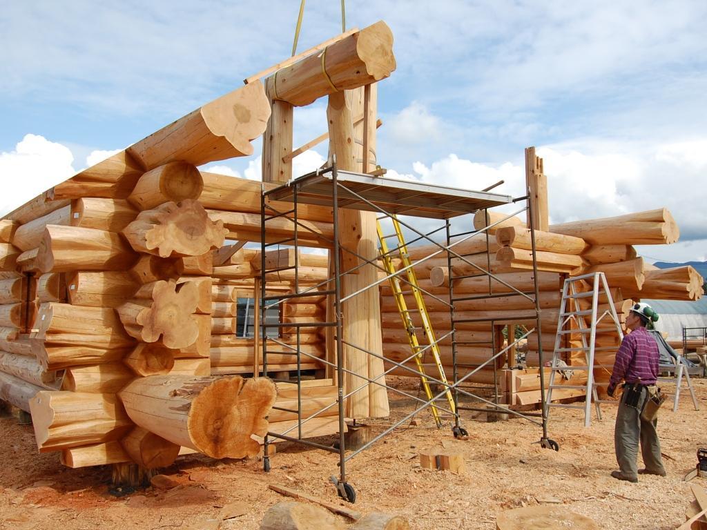 Построй деревянный дом своими руками