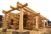 Фото 10 Мини-бани: обзор готовых современных проектов и все этапы постройки