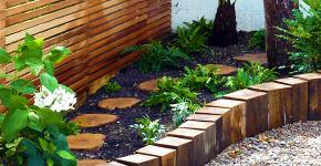 Ограждения для клумб и грядок: 70+ роскошных идей, которые преобразят ваш сад фото