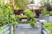 Фото 13 Ограждения для клумб и грядок: 70+ роскошных идей, которые преобразят ваш сад