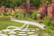 Фото 24 Ограждения для клумб и грядок: 70+ роскошных идей, которые преобразят ваш сад