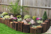 Фото 29 Ограждения для клумб и грядок: 70+ роскошных идей, которые преобразят ваш сад
