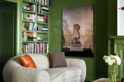 Фото 2 Оттенки зеленого в интерьере: 80+ гармоничных решений от оливкового и до изумрудного