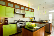 Фото 1 Оттенки зеленого в интерьере: 80+ гармоничных решений от оливкового и до изумрудного