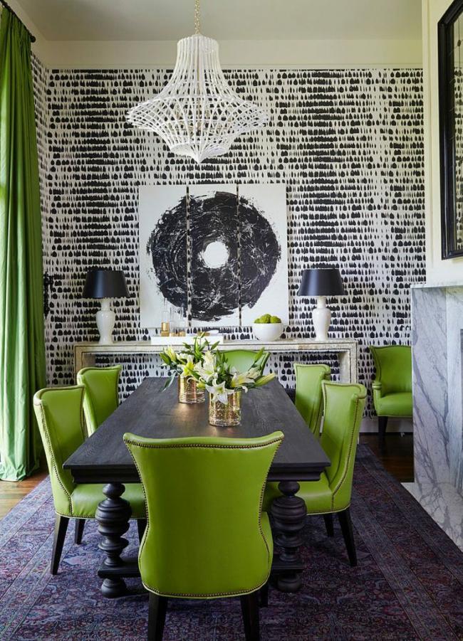 Применение зеленого в оформлении помещения - отличное начало для создания идеального домашнего интерьера