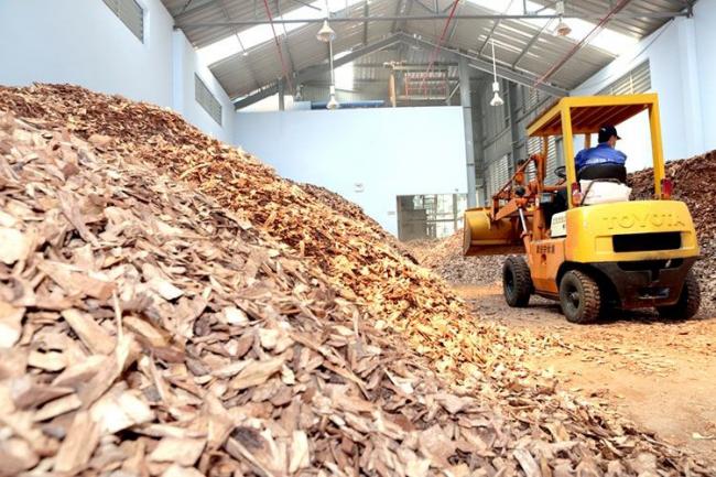 Измельчение отходов древесины - первый этап в производстве пеллет