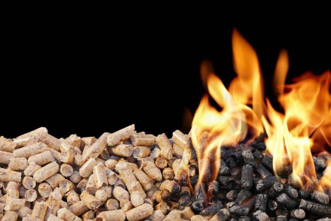 Современный вид топлива, который используются для сжигания в пеллетных котлах
