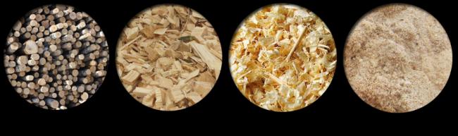 Сырье для изготовления пеллет с несоответствующей влажностью требует дополнительного увлажнения или сушки