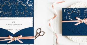 Пригласительные на свадьбу: тренды 2019 года и мастер-классы по созданию своими руками фото