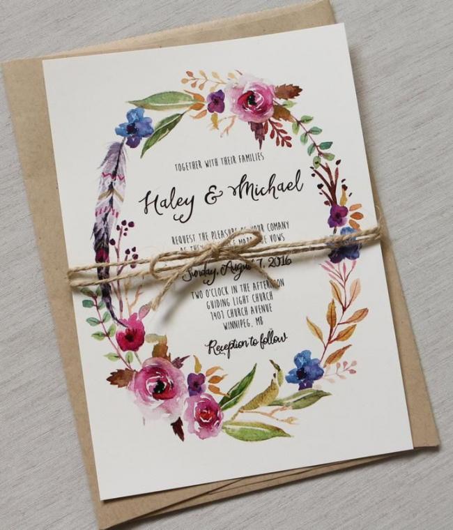 Создать пригласительные на свадьбу своими руками - отличная возможность проявить всю свою креативность и вложить душу в этот свадебный атрибут