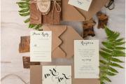 Фото 6 Пригласительные на свадьбу: тренды 2019 года и мастер-классы по созданию своими руками