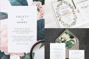 Фото 13 Пригласительные на свадьбу: тренды 2019 года и мастер-классы по созданию своими руками