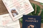 Фото 23 Пригласительные на свадьбу: тренды 2018 года и мастер-классы по созданию своими руками