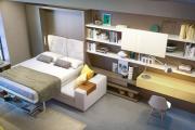 Фото 19 Когда каждый метр на счету — шкаф-кровать с диваном: как выбрать идеальную кровать-трансформер для квартиры?