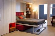 Фото 2 Когда каждый метр на счету: выбираем идеальную кровать-трансформер для квартиры
