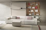 Фото 14 Когда каждый метр на счету — шкаф-кровать с диваном: как выбрать идеальную кровать-трансформер для квартиры?
