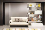 Фото 22 Когда каждый метр на счету — шкаф-кровать с диваном: как выбрать идеальную кровать-трансформер для квартиры?