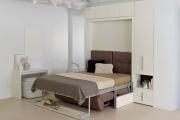 Фото 34 Когда каждый метр на счету — шкаф-кровать с диваном: как выбрать идеальную кровать-трансформер для квартиры?