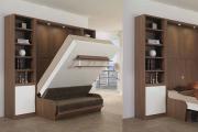 Фото 35 Когда каждый метр на счету — шкаф-кровать с диваном: как выбрать идеальную кровать-трансформер для квартиры?