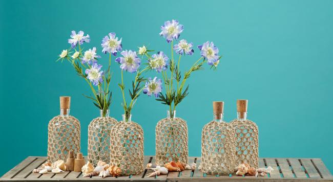 Цветы скабиозы часто используются для оформления декора интерьера