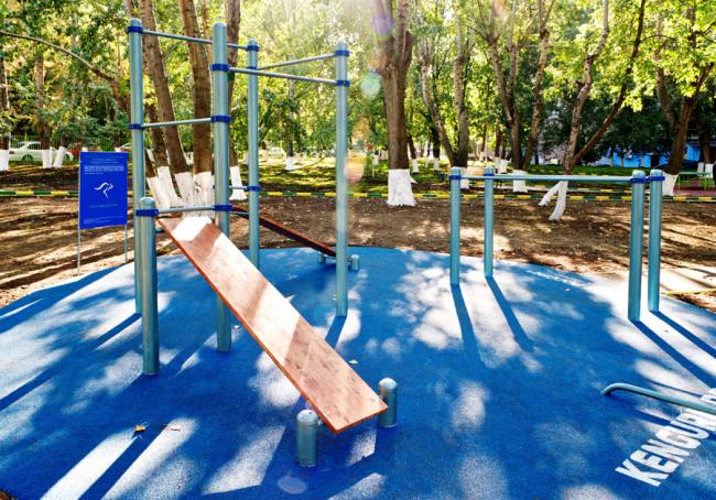 Спортивная площадка для школьника