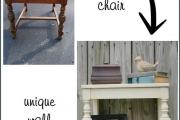 Фото 17 Старая мебель: 75+ потрясающих идей обновления и реставрации мебели без лишних затрат