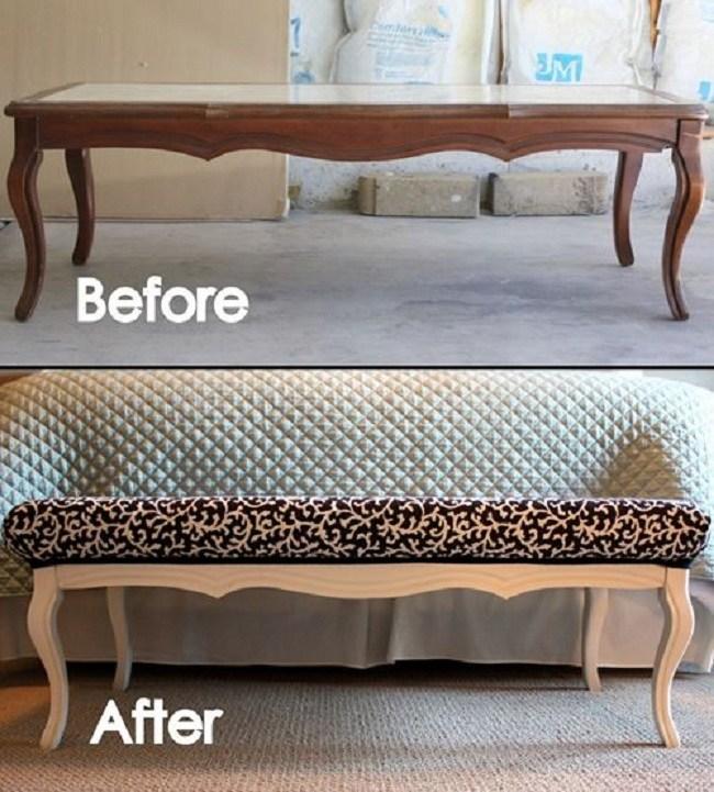 Старая мебель: фото до и после