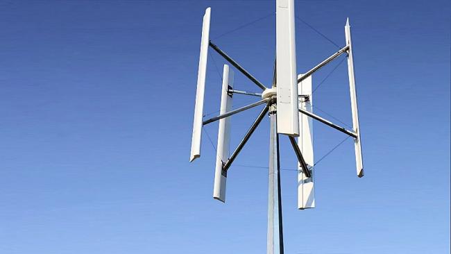 Ветрогенератор для частного дома: Надежный ветрогенератор с вертикальным ротором