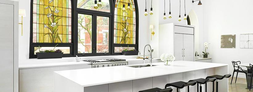Витражная пленка на стекло: 80+ утонченных решений для домашнего декора