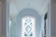 Фото 7 Витражная пленка на стекло: 80+ утонченных решений для домашнего декора