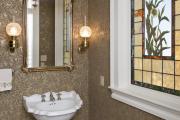 Фото 12 Витражная пленка на стекло: 80+ утонченных решений для домашнего декора