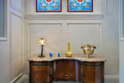 Фото 39 Витражная пленка на стекло: 80+ утонченных решений для домашнего декора