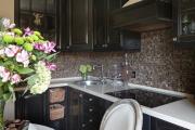 Фото 21 Акцентная зона: 70+ стильных вариантов мозаики на кухонный фартук