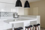 Фото 20 Акцентная зона: 70+ стильных вариантов мозаики на кухонный фартук