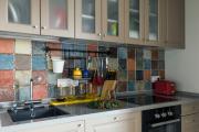 Фото 17 Акцентная зона: 70+ стильных вариантов мозаики на кухонный фартук