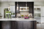 Фото 16 Акцентная зона: 70+ стильных вариантов мозаики на кухонный фартук