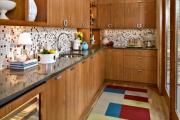 Фото 15 Акцентная зона: 70+ стильных вариантов мозаики на кухонный фартук