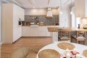Фото 13 Акцентная зона: 70+ стильных вариантов мозаики на кухонный фартук
