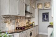 Фото 9 Акцентная зона: 70+ стильных вариантов мозаики на кухонный фартук
