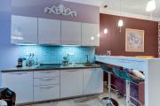 Фото 7 Акцентная зона: 70+ стильных вариантов мозаики на кухонный фартук