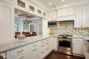 Фото 5 Акцентная зона: 70+ стильных вариантов мозаики на кухонный фартук
