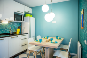Фото 4 Акцентная зона: 70+ стильных вариантов мозаики на кухонный фартук