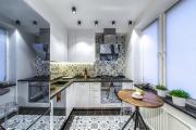 Фото 3 Акцентная зона: 70+ стильных вариантов мозаики на кухонный фартук