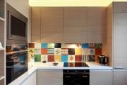 Фото 2 Акцентная зона: 70+ стильных вариантов мозаики на кухонный фартук