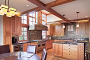Фото 25 Акцентная зона: 70+ стильных вариантов мозаики на кухонный фартук