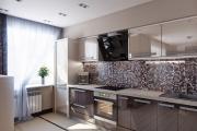 Фото 28 Акцентная зона: 70+ стильных вариантов мозаики на кухонный фартук