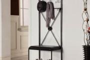 Фото 3 Выбор аристократа — кованые прихожие: 75+ стильных вешалок, обувниц и банкеток для элегантных интерьеров