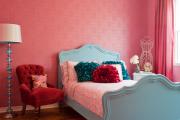 Фото 1 Фуксия, фрез и земляничный: 70+ трендовых расцветок обоев в розовой гамме