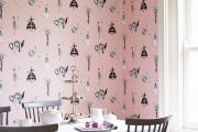Фото 10 Фуксия, фрез и земляничный: 70+ трендовых расцветок обоев в розовой гамме